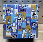 Disney World 50th Anniversary Dooney And Bourke Park Exclusive Magic Band New
