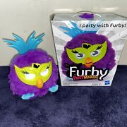 Furby Party Rockers Purple Nrfb Nr Tested Works Fast Shipping