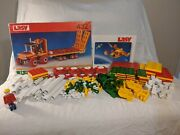 Vintage Lasy Building Blocks West Germany Set 432 Complete With Instructions