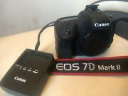 Canon Eos 7d Mark Ii 20.2mp Dslr Camera - Body Only Shutter Count 4257 2