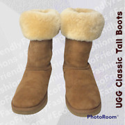 Ugg Women's Brown Classic Tall Snow Boots Size Us 7