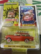 1955 Chevrolet Nomad Chevy Greenlight Garbage Pail Kids Pale Green Light Ametoi