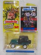 Garbage Pail Kids 1970 Jeep Cj-5 With Stickers Pale Green Light Ametoi Cabbage