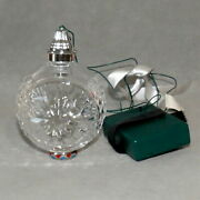 Christmas Ornament Glass Waterford Crystal Times Square 2009 Light 100 Years
