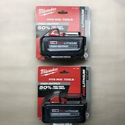 Milwaukee 48-11-1862 2 Pack M18 6 Amp Batteries 48-11-1865 New 2 Day Shipping