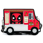 Marvel Loungefly Sac A Main Deadpool 30andegraveme Anniv Chimichangas Food Truck