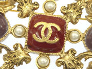Coco Mark Brooch Women And039s A11p Gold-coloured _61225