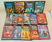 15 Diff Doctor Who Dvd Lot 22 Disc British Tv Collection Bbc Video Baker Pertwee