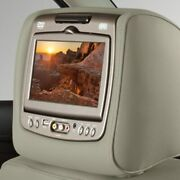 Genuine Gm Headrest And Video Screen Assembly 84263923