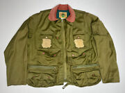Vintage Mens Ideal Fly Fishing Utility Jacket Size M 38-40 1921 Usa Made