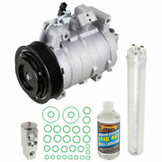 For Honda Accord 2.4l 4-cyl 2013 2014 2015 2016 2017 Ac Compressor And A/c Kit Csw