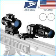3x 4x 5x Magnifier 1x40 Red Dot 552 Scope Sight Hunting Riflescope Tactical Us