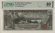 1896 1 Silver Certificate Fr225 Pmg 40 Ef Bruce/robert's Educational Note