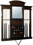 Maitland Smith Wall Pool Cue Rack - Excellent Condition. Save Thousands.