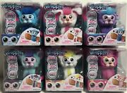 Wrapples Little Live Pets Interactive Furry Friends, Mixed Lot Of 6 - New/sealed