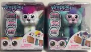 Little Live Pets Wrapples Interactive Furry Best Friend Lot Of 2 - Shylo And Una