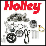 Holley Mid-mount Race Accessory System Satin No Power For Gmc Ls Steering