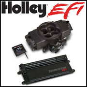 Holley Hard Core Terminator 4bbl Throttle Body Fuel Injection W/ Trans Control