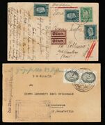 Germany 1924-36 Postal History Covers And Cards. Interesting Lot. 240.