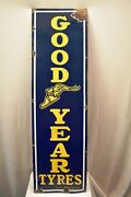 Good Year Tire Vintage Porcelain Enamel Sign Board Advertising Collectibles 15