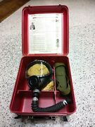 Vintage Willson Gas Mask For Display Only