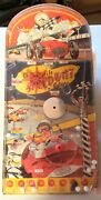 Vintage 500 Mile Speedway Marble Action Pinball Game By Wolverine Toy Company