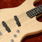 Moon Jj-4ox Wn -natural- F / S New Electric Bass