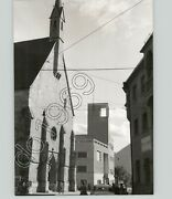 Medieval And Modernist Architecture In Meran, Italy 1950s Artistic Vtg Press Photo