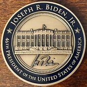 Official Joseph R. Biden 46th President Of The United States Challenge Coin