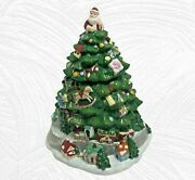 Spode Christmas Tree Cookie Jar With Train Toys Santa Villages Harold Holdway