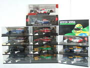 1/43 F-1 1993 14 Cars Mp4/8 B193b F93a Et. Available In Tobacco Specifications