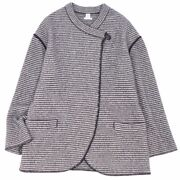Hermes Coat Knit Hlog Oversized No Color Women And039s Cashmere Silk Oute _63614