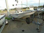 Project 1976 Boston Whaler Montauk 17and039 Center Console Bay Boat With Trailer