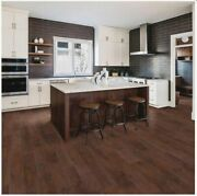 Mohawk Home Rustic Spiced Oak Laminate Flooring With 2 Mm Attached Pad 18.14 Sq