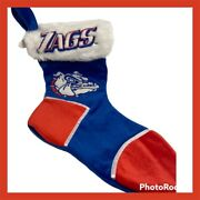 Officially Licensed College Gonzaga  Zag Plush Christmas Stocking 18andrdquo