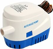 Automatic Submersible Boat Bilge Water Pump 12v 760gph Auto With Float Switch