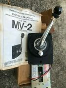 Morse Mv-2andnbsp Throttle Remote Control Brand New With Manual