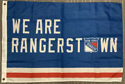 New York Rangers Flag We Are Rangerstown Stanley Cup Champions Nice Dad Gift
