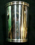 1934 – 1965 Sterling Silver Mint Julep Cup By Trees - No Monogram