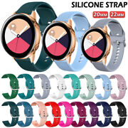 For Samsung Galaxy Watch/ 3/active 2 40 41 42 44 45 46mm Sport Watch Band Strap