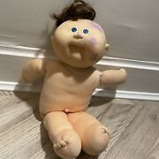 Rare Vintage Doll Cabbage Patch Kid 1978 1983 Signed Xavier Roberts Ink On Face