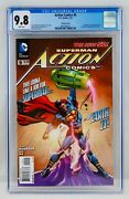 Action Comics 9 Cgc 9.8 Variant Cover New 52 First Calvin Ellis Appearance 1st