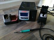 Jbc Tools Dd-1b 2-tool Soldering Station Control Unit W/ Handpiece Tip And Stand