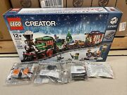 Lego Creator 10254 Winter Holiday Train Power Functions All 4 Included Sealed