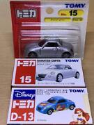 Disney Tomica Collection Copen And Discontinued Cars