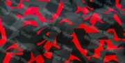 Way2buy Red Black Gray Gloss Camouflage Vinyl Car Wrap With Air Release Adhesive
