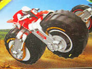 Super Rare Motor Cycles No42 Moto Crusher Color Red Motocross Bike And