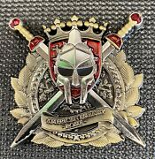 Msg - Marine Security Guard - American Embassy Rome Italy - Challenge Coin