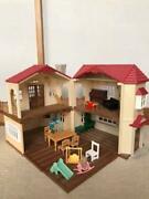 Sylvanian Families Big House With Red Roof Accessory Doll