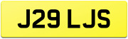 Quality Rare Double Digit Personalised Private Reg Number Plate J29 Ljs / Lj Ls